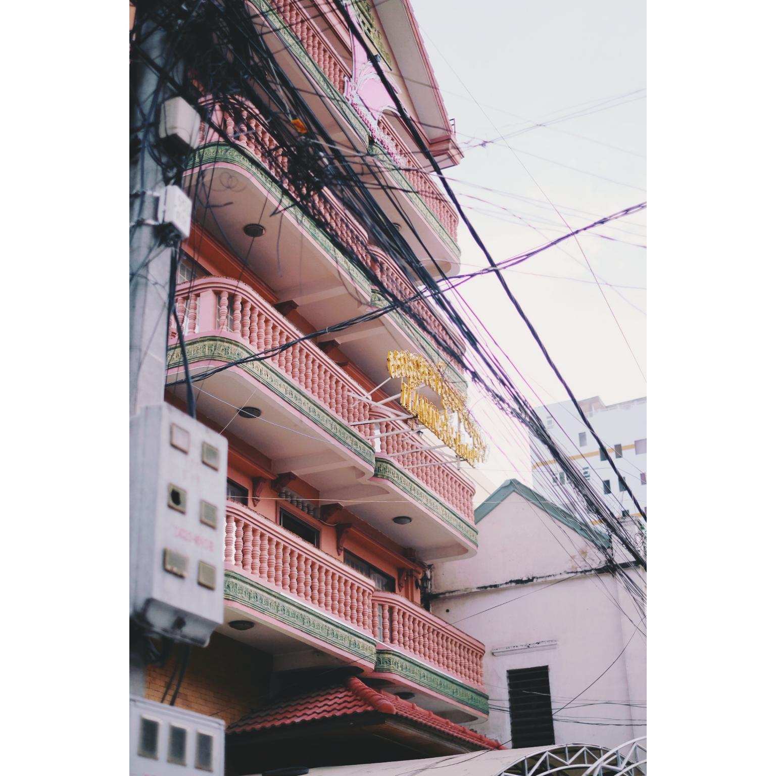 Architecture au Cambodge