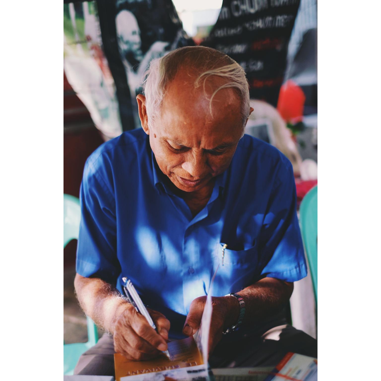 Survivant de Tuol Sleng